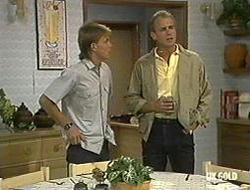 Scott Robinson, Jim Robinson in Neighbours Episode 0233
