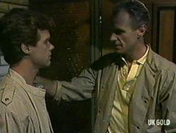 Paul Robinson, Jim Robinson in Neighbours Episode 0233