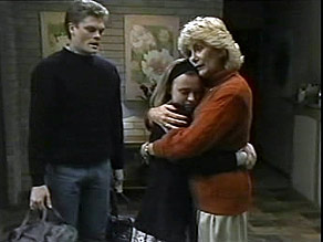 Adam Willis, Gemma Ramsay, Madge Bishop in Neighbours Episode 1484