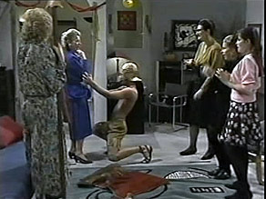 Madge Bishop, Helen Daniels, Josh Anderson, Dorothy Burke, Lucy Robinson, Cody Willis in Neighbours Episode 1484