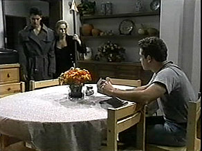 Josh Anderson, Lucy Robinson, Glen Donnelly in Neighbours Episode 1485
