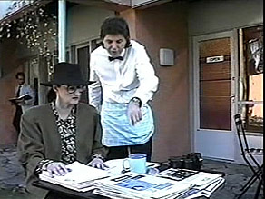 Dorothy Burke, Joe Mangel in Neighbours Episode 1485