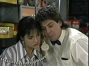 Christina Robinson, Joe Mangel in Neighbours Episode 1485
