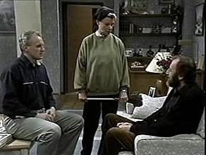 Jim Robinson, Helen Daniels, Michael Daniels in Neighbours Episode 1486
