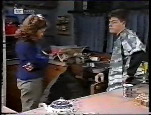 Julie Robinson, Doug Willis, Michael Martin in Neighbours Episode 1780
