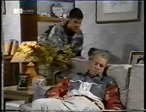 Michael Martin, Jim Robinson in Neighbours Episode 1780