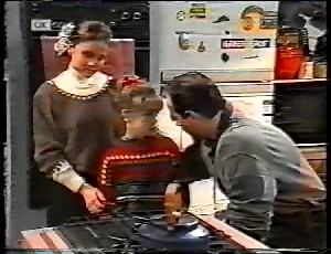 Julie Robinson, Hannah Martin, Philip Martin in Neighbours Episode 1780