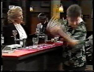 Madge Bishop, Lou Carpenter, Michael Martin in Neighbours Episode 1780