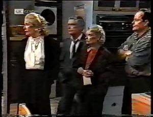 Madge Bishop, Lou Carpenter, Helen Daniels, Philip Martin in Neighbours Episode 1780