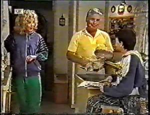 Madge Bishop, Lou Carpenter, Toby Mangel in Neighbours Episode 1783