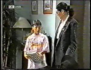 Toby Mangel, Dorothy Burke in Neighbours Episode 1783
