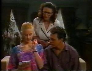 Phoebe Bright, Dorothy Burke, Stephen Gottlieb in Neighbours Episode 1825