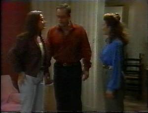 Beth Brennan, Philip Martin, Julie Robinson in Neighbours Episode 1825