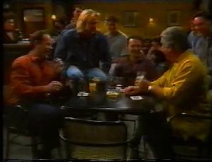Philip Martin, Brad Willis, Stephen Gottlieb, Lou Carpenter in Neighbours Episode 1825