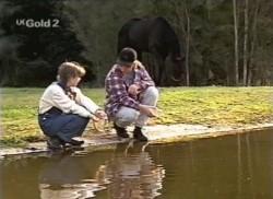 Hannah Martin, Billy Kennedy in Neighbours Episode 2248