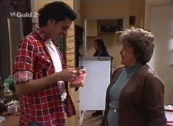 Sam Kratz, Cody Willis, Marlene Kratz in Neighbours Episode 2248