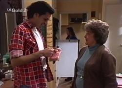 Sam Kratz, Cody Willis, Marlene Kratz in Neighbours Episode 2248