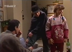 Karl Kennedy, Billy Kennedy, Hannah Martin in Neighbours Episode 2248