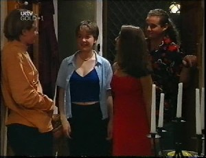 Tad Reeves, Allie Bentley, Jade Cleary, Toadie Rebecchi in Neighbours Episode 3252