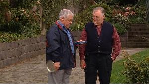 Lou Carpenter, Harold Bishop in Neighbours Episode 4406
