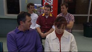 Malcolm Kennedy, Toadie Rebecchi, Stuart Parker, Karl Kennedy, Susan Kennedy in Neighbours Episode 4409