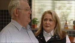 Harold Bishop, Loris Timmins in Neighbours Episode 5099