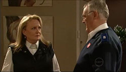 Loris Timmins, Harold Bishop in Neighbours Episode 5099