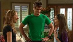 Katya Kinski, Ned Parker, Rachel Kinski in Neighbours Episode 5100