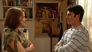 Rosie Cammeniti, Frazer Yeats in Neighbours Episode 5173