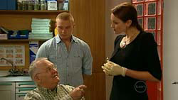 Harold Bishop, Boyd Hoyland, Charlotte Stone in Neighbours Episode 5192