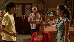 Zeke Kinski, Lou Carpenter, Bree Timmins, Louise Carpenter (Lolly) in Neighbours Episode 5244
