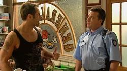 Adam Rhodes, Allan Steiger in Neighbours Episode 5244