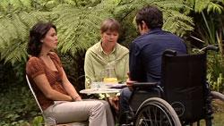 Rosie Cammeniti, Prue Brown, Frazer Yeats in Neighbours Episode 5244