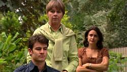 Frazer Yeats, Prue Brown, Rosie Cammeniti in Neighbours Episode 5245