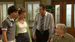 Zeke Kinski, Susan Kennedy, Karl Kennedy, Tom Kennedy in Neighbours Episode 5247