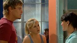 Ned Parker, Janae Hoyland, Rosie Cammeniti in Neighbours Episode 5248
