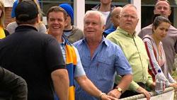 Paul Robinson, Lou Carpenter, Harold Bishop in Neighbours Episode 5250