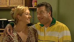Janelle Timmins, Allan Steiger in Neighbours Episode 5250