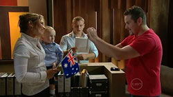 Steph Scully, Charlie Hoyland, Boyd Hoyland, Toadie Rebecchi in Neighbours Episode 5251
