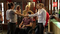 Rosie Cammeniti, Pepper Steiger, Frazer Yeats, Steph Scully in Neighbours Episode 5251