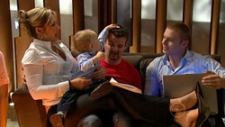 Steph Scully, Charlie Hoyland, Toadie Rebecchi, Boyd Hoyland in Neighbours Episode 5251