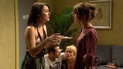 Rosie Cammeniti, Adam Rhodes, Pepper Steiger, Carmella Cammeniti in Neighbours Episode 5260