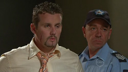 Toadie Rebecchi, Snr Sgt Malcolm Hill in Neighbours Episode 5262