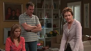 Rachel Kinski, Karl Kennedy, Susan Kennedy in Neighbours Episode 5309