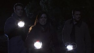 Oliver Barnes, Rebecca Napier, Paul Robinson in Neighbours Episode 5320