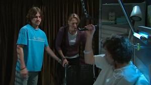 Riley Parker, Miranda Parker, Bridget Parker in Neighbours Episode 5321