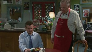 Toadie Rebecchi, Harold Bishop in Neighbours Episode 5327