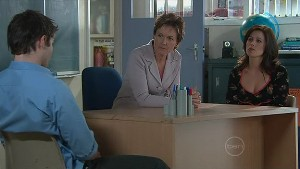 Declan Napier, Susan Kennedy, Rebecca Napier in Neighbours Episode 5327