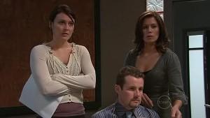 Rosie Cammeniti, Toadie Rebecchi, Rebecca Napier in Neighbours Episode 5332