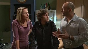 Miranda Parker, Riley Parker, Steve Parker in Neighbours Episode 5332